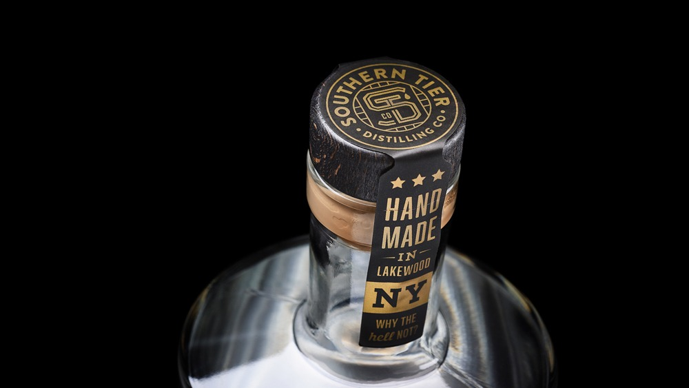 Southern Tier Distilling Co packaging