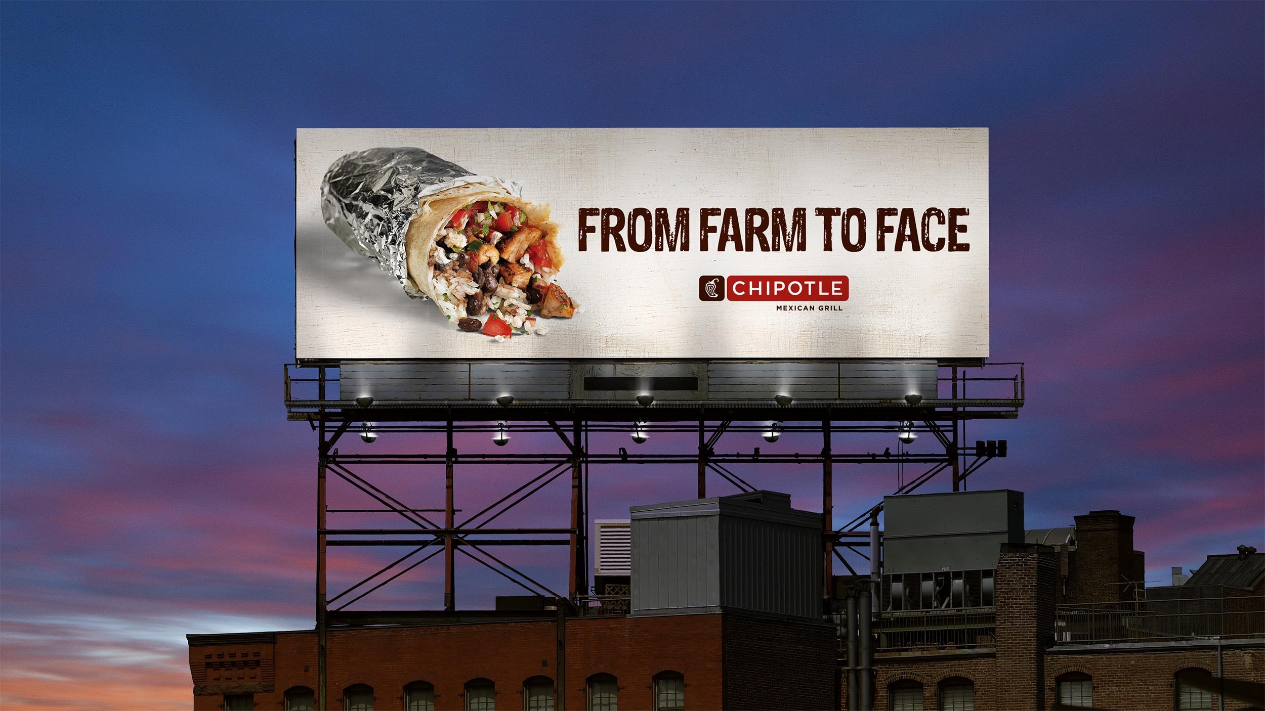 Chipotle billboard