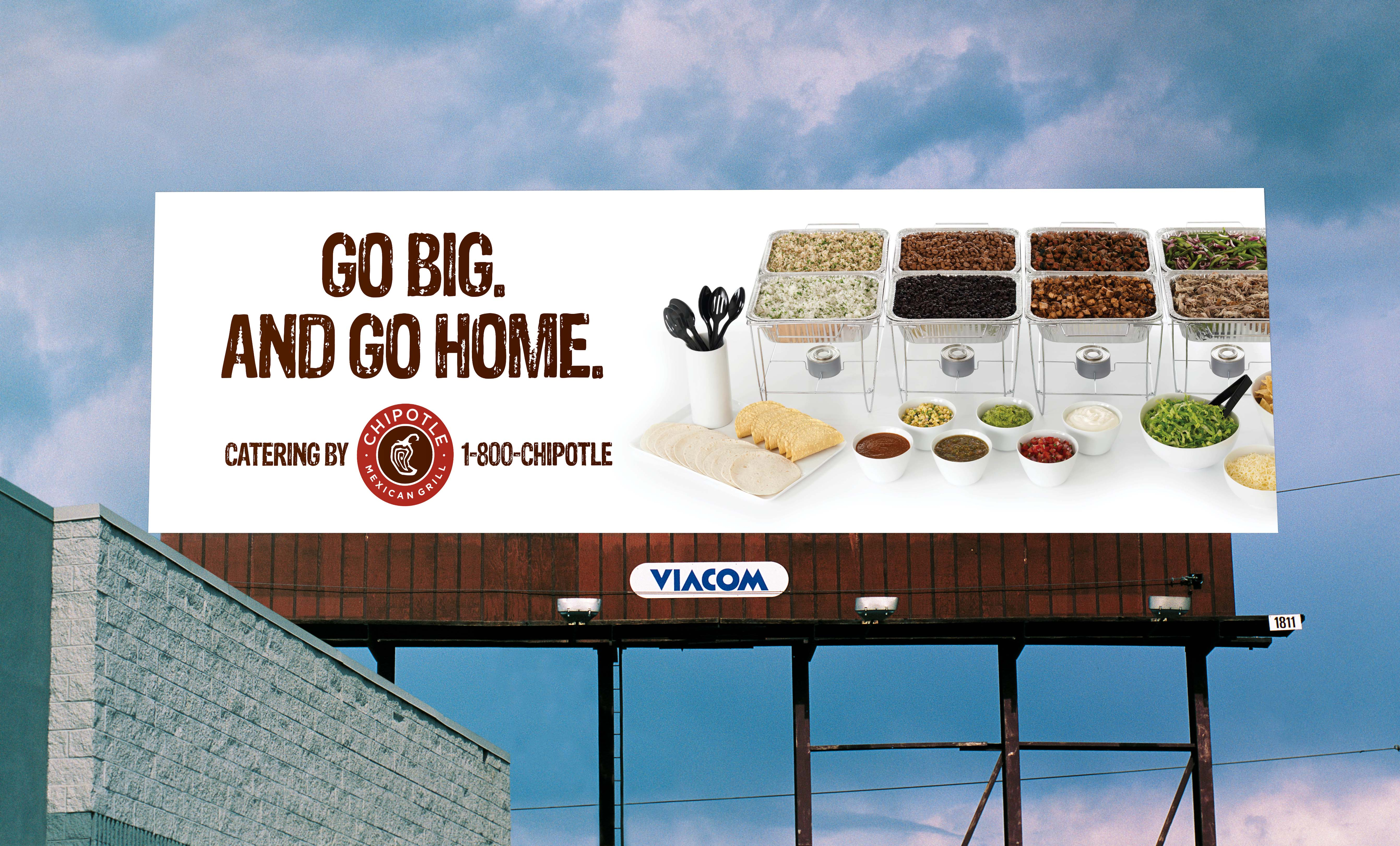 Chipotle billboard