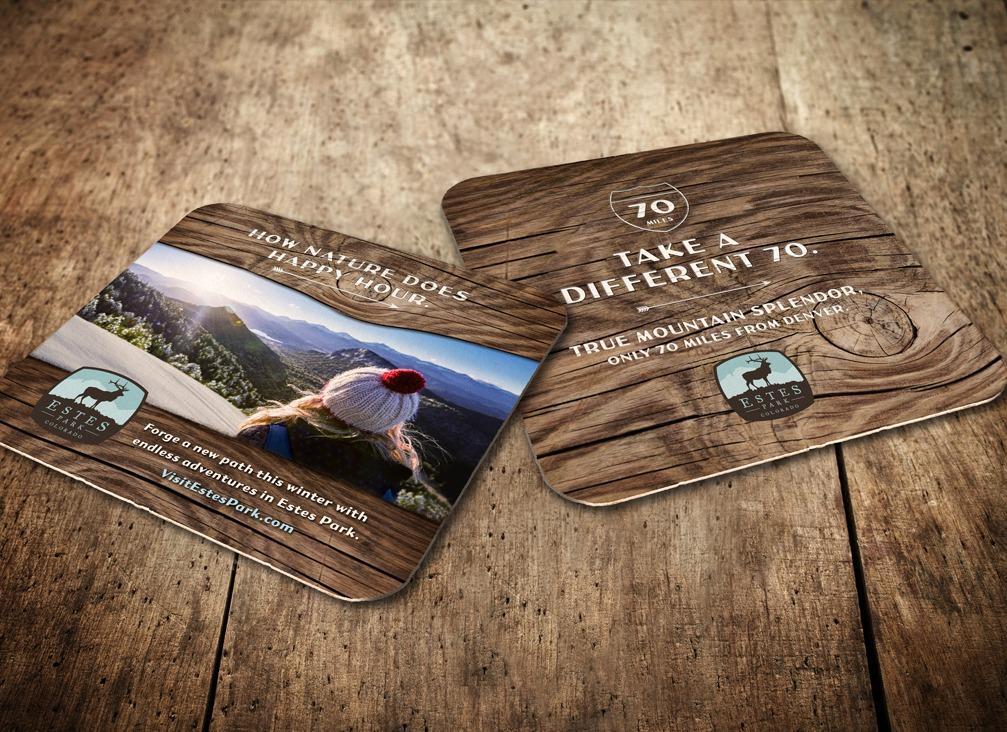 Visit Estes Park coaster