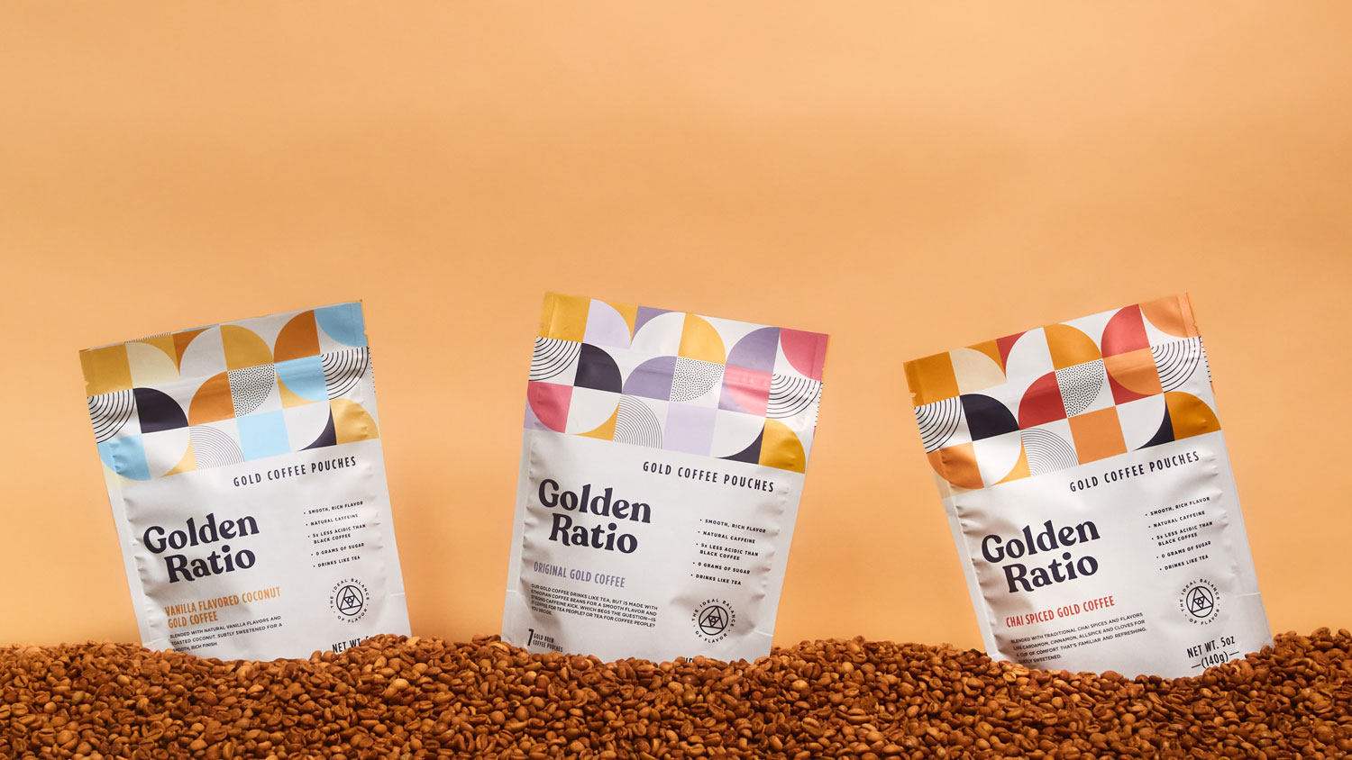Golden Ratio coffee bags