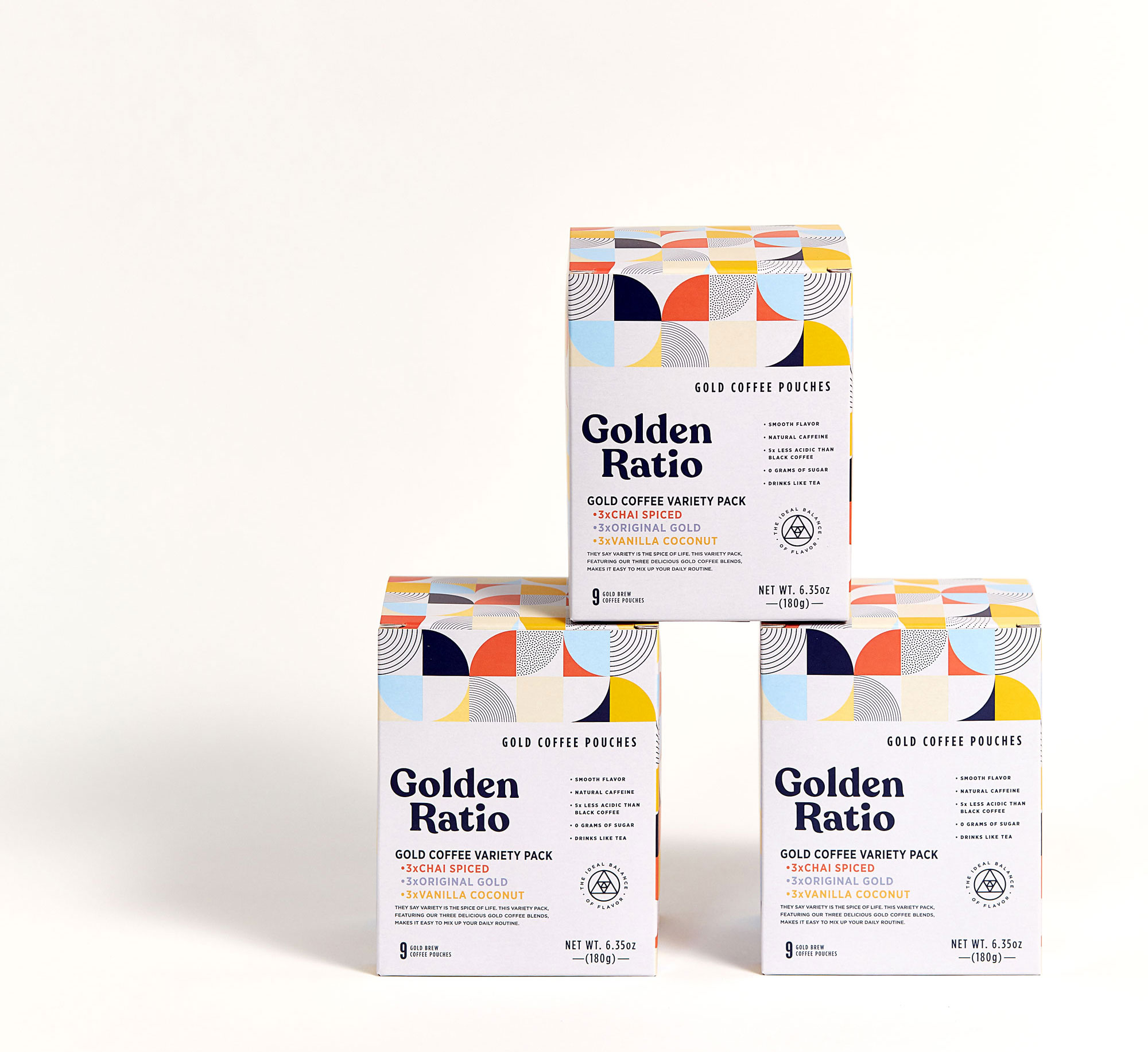 Golden Ratio packaging