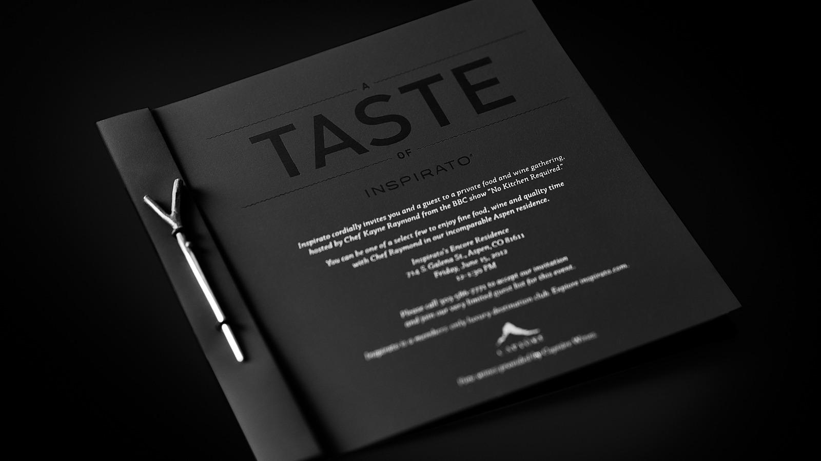 Inspirato invitation