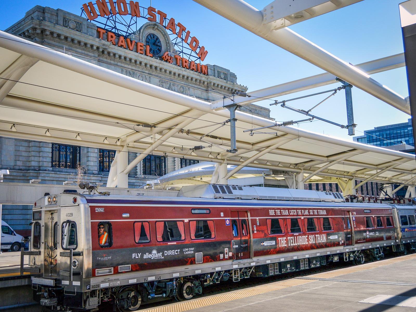 Telluride train wrap