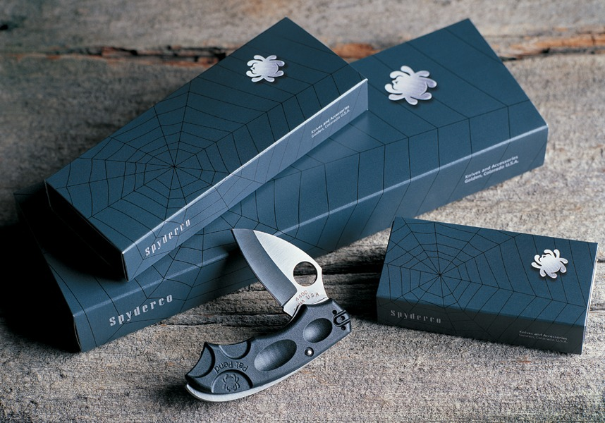 Spyder packaging
